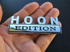~ HOON EDITION CAR EMBLEM Chrome Metal Badge *NEW* Hooning Hotrod Custom Chev