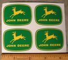 4 JOHN DEERE 2 inch 4-leg Yellow Deer Computer Cut DECALS Adhesive Tractor J1976