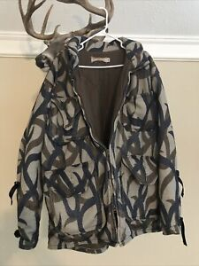 Day One Fleece ASAT Camo XXL Heavy Jacket and Pants Bowhunting Made In USA. RARE