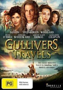 Gulliver's Travels DVD New Sealed Region 4