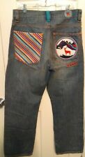 """EUC Coogi Embroidered Distressed Jeans Men's Size 34/34  """"Coogi Outdoors"""""""