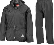 Adults Waterproof Suit Jacket & Trousers Windproof Rain Set Womens Mens Ladies