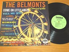 "DOO-WOP GROUP LP - THE BELMONTS - SABINA 5001 - ""CARNIVAL OF HITS"""