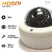 HD-SDI 2MP 1080P Vandal Zoom Surveillance Security System Camera for Commercial