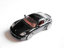 Porsche Cayman S in basalt schwarz nero noir black metallic, Schuco in 1:43!