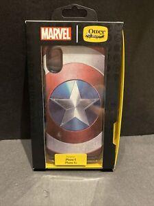 OtterBox Captain America Shield Apple iPhone X XS Symmetry Series X Xs  Case