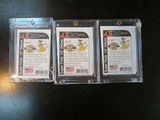 Pro-Mold # PC 17 3 Count Lot 1 Screw Memorabilia Card Holder 180 pt New