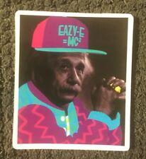 "Einstein EASY E MC2 skateboard vinyl sticker decal 2 1/2"" x 2"" Ships from US"