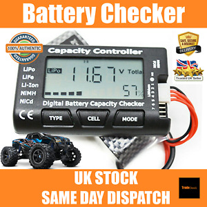 Battery Tester | Cell Capacity Voltage Balance Checker LiPo LiFe Li-ion RC Car