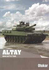 OTOKAR ALTAY 2015 MAIN BATTLE TANK TURKISH ARMY MILITARY BROCHURE PROSPEKT