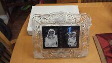 Dual Mikasa Wedding Photo Frame