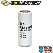 Exell Battery A32PX Replaces Eveready EN164A, NEDA 1404A, IEC 4LR52 USA SHIP