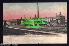 116661 Ak Niedersedlitz Dresden 1906 Sachsenwerk Lumière et puissance Actions