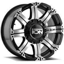 "Ion 187 17x9 5x4.5""/5x5"" -12mm Black/Machined Wheel Rim 17"" Inch"