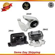 Transmission Motor Mounts Set For:01/06 Chrysler Dodge  2.4L 2.7L