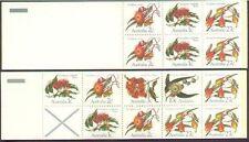 Australia 1982 FLOWERS (Eucalypts) SE-TENANT BOOKLETS (2 booklets) Unhinged Mint