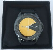 COACH PACMAN PAC-MAN PAC MAN WATCH RARE NY LIMITED EDITION NEW IN BOX SOLD OUT