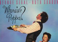 Where's Poppa (1970) George Segal Ruth Gordon RARE Laserdisc LD OOP on DVD