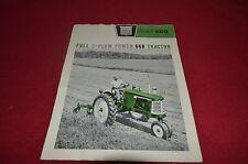 Oliver Tractor 660 Tractor Dealer's Brochure AMIL8