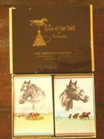 Triple Crown Horses Kentucky Derby Cards Ponder Assault Horse Aces Turf 1940's