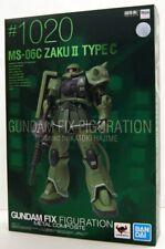 Gundam Zaku II Metal Composite Fix Figuration MS-06C Gff #1020 BANDAI Tamashii