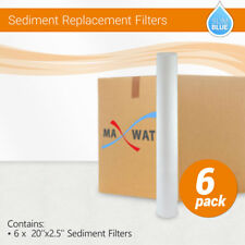 """6 x 20""""x2.5""""  Whole House Sediment Water Filter Cartridge 5 Micron"""