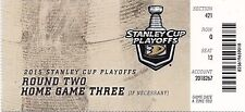 2015 ANAHEIM DUCKS VS CALGARY FLAMES PLAYOFFS GAME #5 TICKET STUB COREY PERRY
