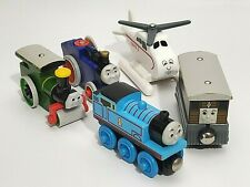 Thomas Tank Engine Friend Learning Curve Wooden Train Toby Harold Fergus George