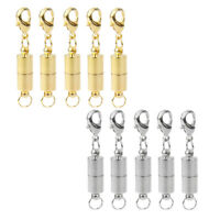 10X Gold Silver Tone Magnetic Clasp Converter Bracelet Necklace Findings DIY