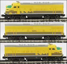 Lionel 6-8464 / 8465 & 6-8474 Rio Grande A-B-A Diesel Set 1974 SSS C6