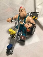 GALOOB BIKER MICE FROM MARS GREASEPIT & GRUNGE CYCLE ACTION FIGURE SET (2)
