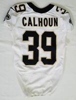 #39 Taveze calhoun of New Orleans Saints NFL Locker Room Game Issued Jersey