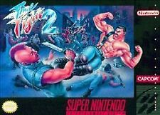 ***FINAL FIGHT 2 SNES SUPER NINTENDO GAME COSMETIC WEAR~~~