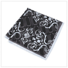 Nikki Chu Black Fashion Scarf
