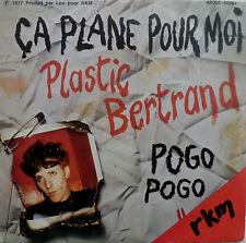 """7"""" rare rkm press! plastic bertrand: CA plane pour moi"""