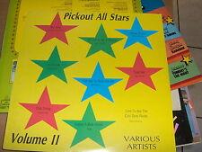 LP PICKOUT ALL STARS VOLUME II WAYNE WONDER RICHIE BROWN KEN BOOTHE S/S