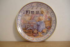 ~Teddy Says His Prayers~Collector Plate~Franklin Mint~