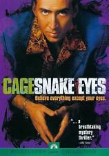 Snake Eyes (New Sealed Dvd 1999 Ws) Nicolas Cage Gary Sinise John Heard