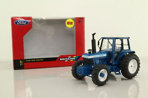 Britains 42840; Ford TW-20 Tractor; 4 Wheel Drive, Blue & Grey; Excellent Boxed