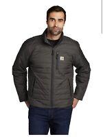 Carhartt Gilliam jacket Rain defender Men Grey Size 3XLarge Free Ship New WTag