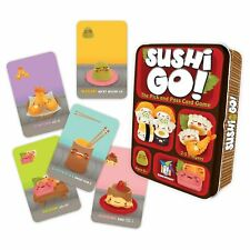 Sushi Go Pick and Pass Card Game by Gamewright - Ages 8+ 2-5 players