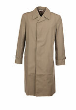 "Raincoat Storm RainMac Overcoat NEW Vintage NVA DDR Cold War Khaki Taupe S-M 38"""