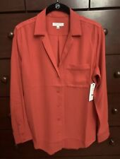 equipment Red Shirt, Blouse Size Xs