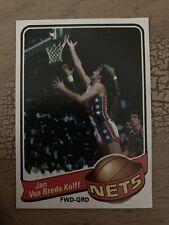 1979-80 Topps Basketball Jan Van Breda Kolff Card #123