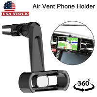 Car Air Vent Stand Mount Holder Cradle For Cell Phone iPhone X XS XR 7 Plus 8