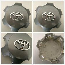 4X Set of NEW Toyota 4Runner FJ Cruiser wheel center hubcaps CHARCOAL 560-69561