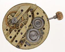 CILINDRO SVIZZERO Pocketwatch 30 ore di movimento RICAMBI & Riparazioni r256