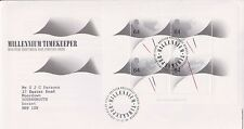 GB ROYAL MAIL FDC FIRST DAY COVER 1999 MILLENNIUM TIMEKEEPER BUREAU PMK