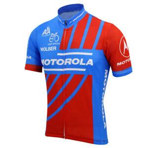 MOTOROLA Cycling Jersey MTB Cycling Jersey  Short Sleeve