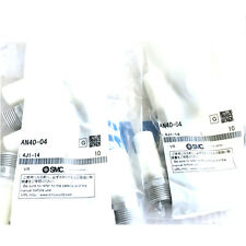 H● SMC AN40-04 Silencer Compact Resin Type/Male Thread New.